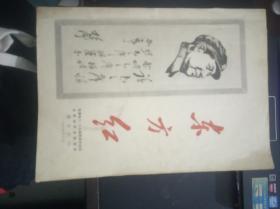 东方红:安徽省八.二七革命造反兵团合肥师范学院纵队指点江山【油印本】