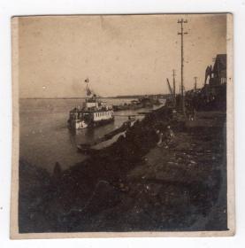 民国报纸图片类----民国原版老照片--1930年前后时间,日本海港码头5