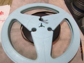 滑轮 8.75毫米电影胶片拷贝 外国科技影片 1卷全原护 甲等 彩色