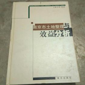 南京市土地整理与效益分析