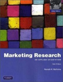 Marketing Research : Naresh K. Malhotra