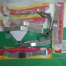 80年代精工表帯三种(不光是表帯,也是精美工艺品)。