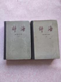 辞海(词语分册上下)