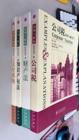 案例与解析(影印系列):支付系统、知识产权法、财产法、公司税【4本合售】英文本