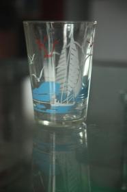 天高任鸟飞玻璃杯