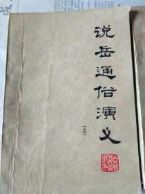 说岳通俗演义(上下册)