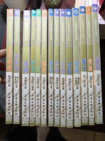 中国国粹艺术读本:(腰鼓、壁画、粤剧、魔术、杂技、豫剧、秧歌、民间建筑、黄梅戏、雕塑、评剧、筝、评书、越剧)14册合售