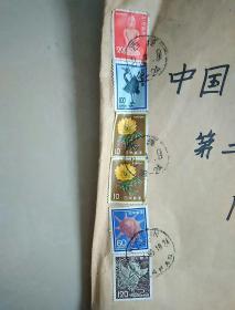 日本航空邮件实寄封