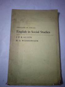 ENGLISH IN SOCIAL STUDIES 社会研究英语(英文)
