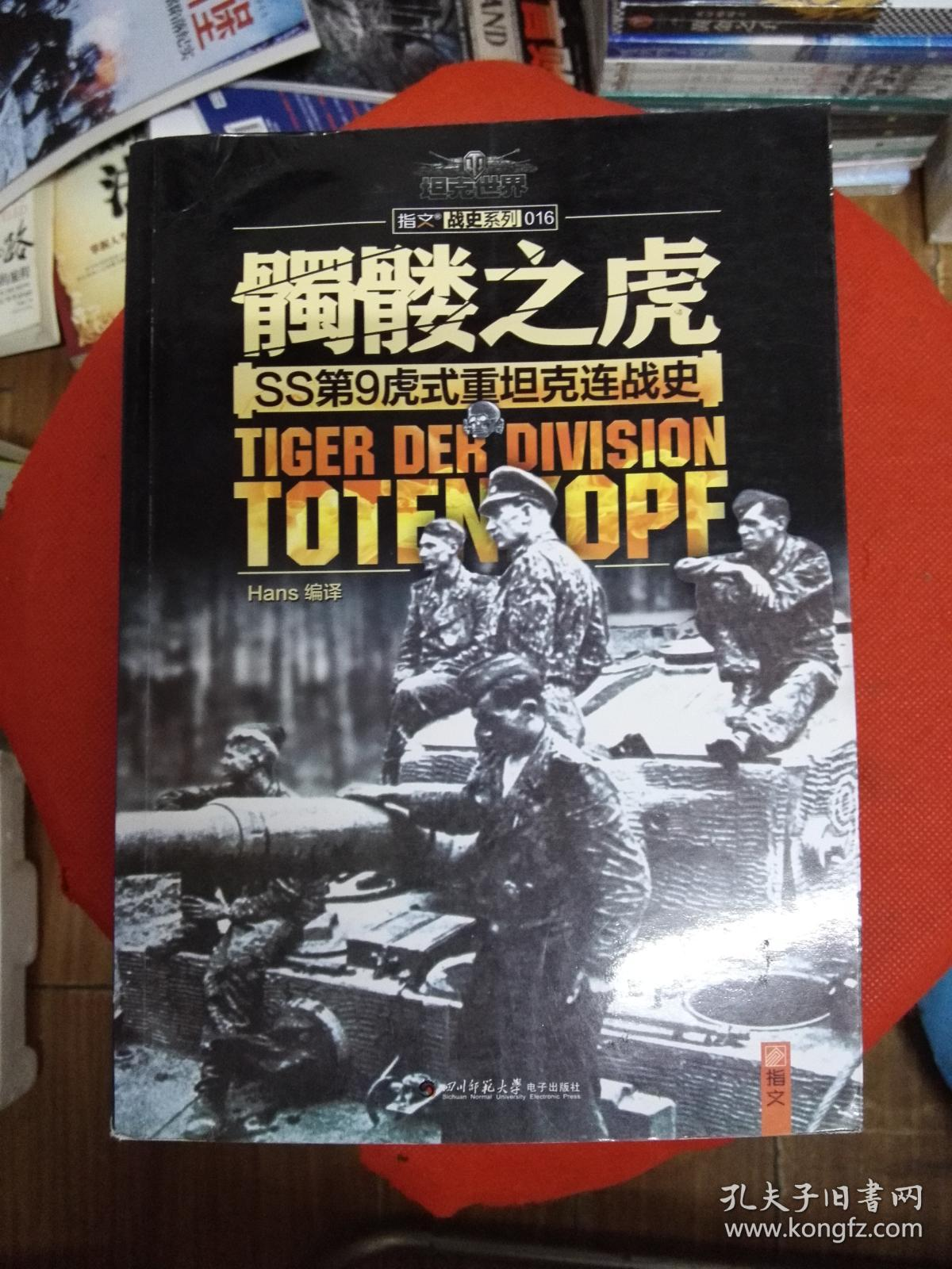 髑髅之虎:SS第9虎式重坦克连战史.