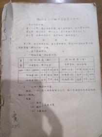 油印本中医书籍,内容见图,附病理、用药、验方等内容,非常少见的中医书籍
