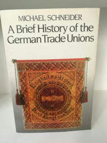 A Brief History History of the German Trade Unions by Michael Schneider(德国)英文原版书
