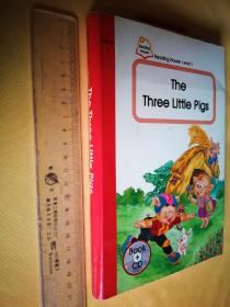 英文原版 the three little pigs+CD光盘