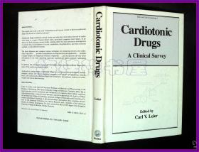 Cardiotonic Drugs  A Clinical Survey Jordan M.Phillips M.D钤印 专门给中国的医疗书籍