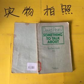 David  Peaty-something to talk about   teachers book