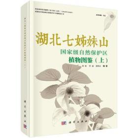 湖北七姊妹山自然保护区植物图鉴(上)(精) 正版 刘虹,覃瑞,熊坤赤 9787030539540