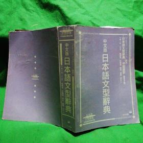 中文版 日本语文型辞典