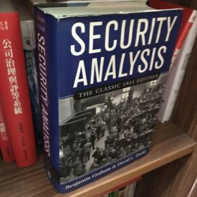 Security Analysis:The Classic 1951 Edition