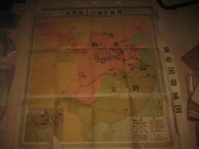 东晋和十六国形势图
