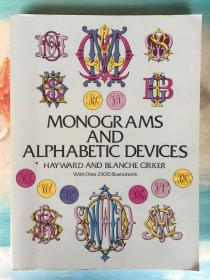 英文原版书 Monograms and Alphabetic Devices