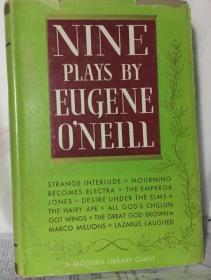 NINE PLAYS BY EUGENE ONEILL 尤金 奥尼尔的九部戏剧