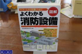日语原版 图解  消防设备 32开   336页  品好包邮