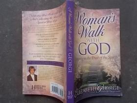 A WOMANS WALH  WITH GOD 【大32开英文原版】