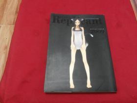 日版权威版本实物拍照【REPLICANT   WORKS6】16开画册(日本动漫卡通玩偶手办人物画册)都是美少女玩偶