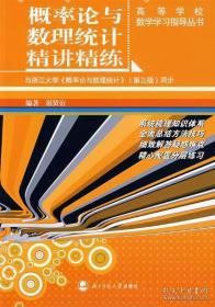 概率论与数理统计精讲精练 谢贤衍著 北京师范大学出版社 9787303