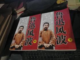 中国当代文化现象 《鲁迅风波》(中下)两本合售