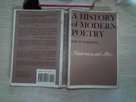 A History of Modern Poetry, Volume II:Modernism and After··一点划线
