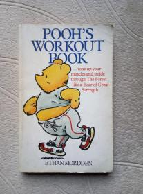 POOHS WORKOUT BOOK【英文原版】