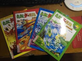 自然大模拟(全套四册合售):世间奇景、气象万千、天地大观、自然灾害【新视野儿童探索系列】