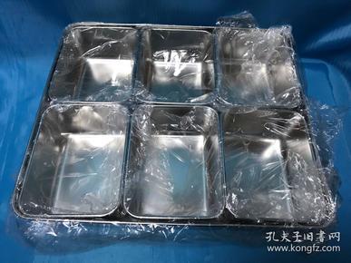 不锈钢六格人调味料盒