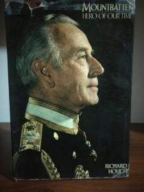 蒙巴顿伯爵传 Mountbatten Hero of Our Time Eight Years in Picture (英国研究)英文原版书