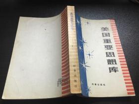 美国重要思想库(82年1版1印8500册)