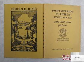 《北威尔士村庄》1932年出版,风景画 (货号:0010500783)