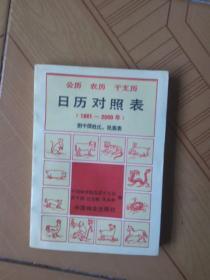 公历.农历.干支历.日历对照表(1881-2000)附中国姓氏.民族表