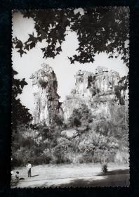 六十年代风景老照片相片一枚