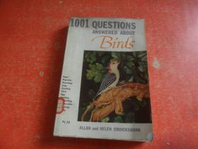 1001 QUESTIONS ANSWERED ABOUT BIRDS(英文原版)鸟类,馆藏