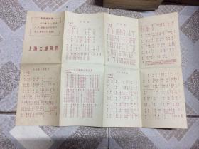上海交通简图(有毛主席语录)