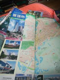 深圳市交通游览图2000