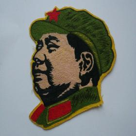 毛主席像(丝织品)