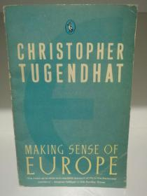 Making Sense of Europe by Christopher Tugendhat (欧洲研究)英文原版书