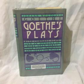 英译  歌德戏剧选  Goethes Plays