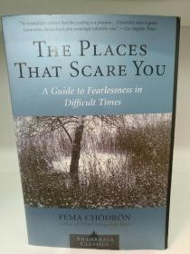 The Places that Scare You : A Guide to Fearlessness in Difficult Times by Pema Chodron(东方哲学)英文原版书