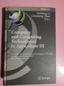 Computer  and  COmputing  Technologies  in   Agriculturellll