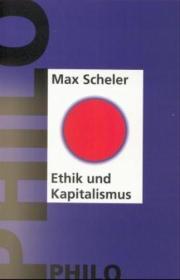 伦理学与资本主义, 论资本主义的精神 Ethik und Kapitalismus. Zum Problem des kapitalistischen Geistes