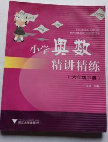小学奥数精讲精练六6年级下册 丁保荣主编 浙江大学出版社