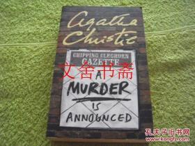 【正版现货】英文原版 A Murder is Announced